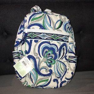 VERA BRADLEY Backpack in Mediterranean White